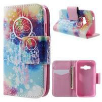 Peňaženkové puzdro pre Samsung Galaxy Trend 2 Lite - dream