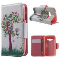 Motive puzdro pre mobil Samsung Galaxy Trend 2 Lite - strom s motýlky