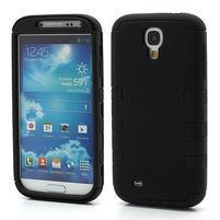 Extreme odolný gélový obal 2v1 pre Samsung Galaxy S4 - čierny