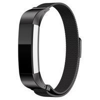 Steel remienok z nerezovej ocele na Fitbit Alta Mesh - čierny