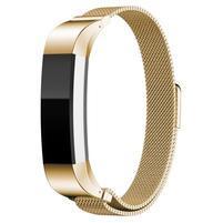 Steel remienok z nerezovej ocele na Fitbit Alta Mesh - zlatý