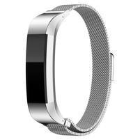 Steel remienok z nerezovej ocele na Fitbit Alta Mesh - strieborný