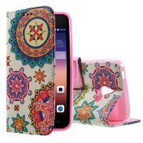 Štýlové puzdro na mobil Huawei Ascend Y550 - mandala