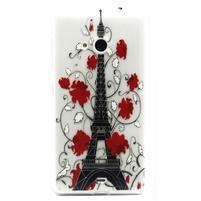 Gélový obal pre mobil Microsoft Lumia 535 - Eiffelova veža