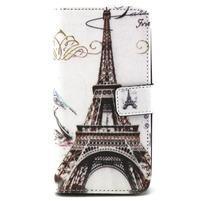 Peneženkové puzdro na mobil LG G4c - Eiffelova veža