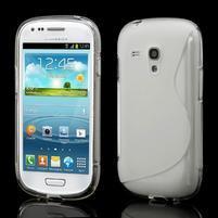 Transparentný gélové puzdro pre Samsung Galaxy S3 mini /i8190