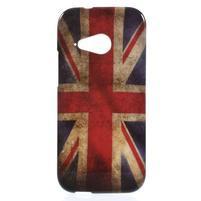 Gélový kryt pre HTC One mini 2 - UK vlajka