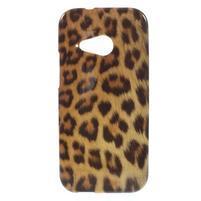 Gélový kryt pre HTC One mini 2 - leopard