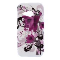 Gélový kryt pre HTC One mini 2 - lotusový kvet