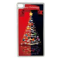 Vianočné edice gélových obalov na Huawei Ascend P8 - stromček