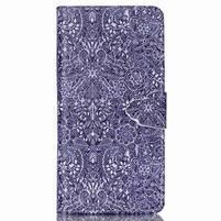 Puzdro pre mobil Huawei P8 Lite - textúry kvetín