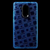 Square gelový obal na Huawei Mate 8 - modrý