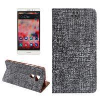 Style knižkové puzdro na mobil Huawei Mate S - čierne