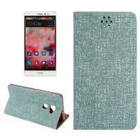 Style knižkové puzdro na mobil Huawei Mate S - zelené
