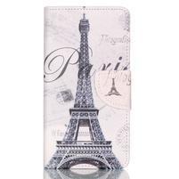 Patter PU kožené puzdro na mobil Huawei P9 Lite - Paris