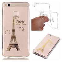 Lacqe geový obal na Huawei P9 Lite - Eiffelova věž