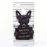 Jelly gelový obal na telefon Huawei P9 Lite - zlý pes