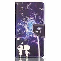 Patter PU kožené pouzdro na mobil Huawei P9 Lite - láska