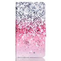 Patter PU kožené pouzdro na mobil Huawei P9 Lite - gradient