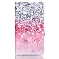 Patter PU kožené puzdro na mobil Huawei P9 Lite - gradient