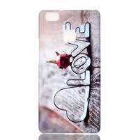 Shelly gelový obal na mobil Huawei P9 Lite - love
