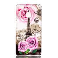 Shelly gelový obal na mobil Huawei P9 Lite - Eiffelova věž