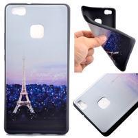 Gelový obal na telefon Huawei P9 Lite - Eiffelova věž