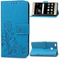 Cloverleaf peňaženkové puzdro na Huawei P9 Lite - modré