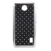 Drahokamový kryt na Huawei Y635 - čierny