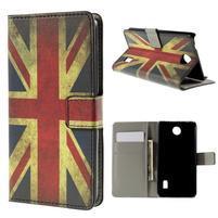 Peňaženkové puzdro Huawei Y635 - UK vlajka