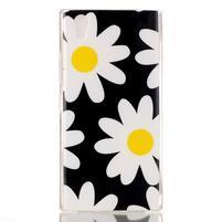 Softy gélový obal pre mobil Lenovo P70 - sedmikrásky