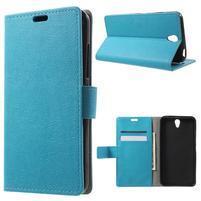 Peňaženkové puzdro pre mobil Lenovo Vibe S1 - modré