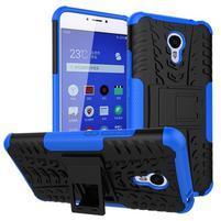 Outdoor odolný kryt pre mobil Meizu M3 note - modrý