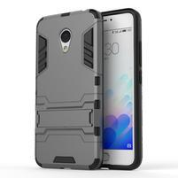 Armour odolný obal pre mobil Meizu M3 note - šedý
