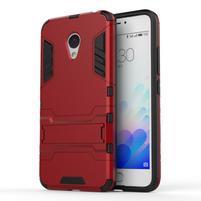 Armour odolný obal pre mobil Meizu M3 note - červený