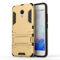 Armour odolný obal pre mobil Meizu M3 note - zlatý