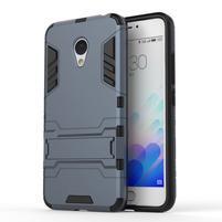 Armour odolný obal pre mobil Meizu M3 note - šedomodrý