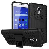 Outdoor odolný kryt pre mobil Meizu M3 note - čierný