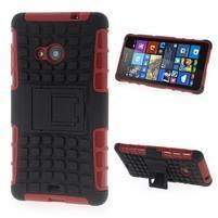 Vysoce odolný obal pre Microsoft Lumia 535 - červený
