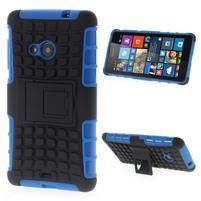 Vysoce odolný obal pre Microsoft Lumia 535 - modrý