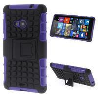 Vysoce odolný obal pre Microsoft Lumia 535 - fialový