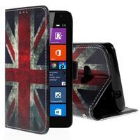 Peňaženkové puzdro Microsoft Lumia 535 - UK vlajka