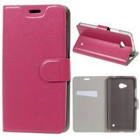 Rose peňaženkové puzdro na Microsoft Lumia 640 LTE