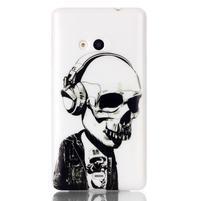 Soft gélový obal pre mobil Microsoft Lumia 535 - skull