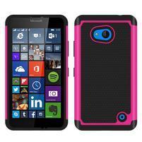 Odolný hybrdiní kryt na mobil Microsoft Lumia 640 - rose