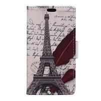 Peňaženkové puzdro pre mobil Microsfot Lumia 550 - Eiffelka