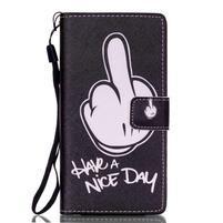 Peňaženkové puzdro Huawei Ascend P8 Lite - krásny deň