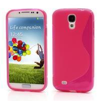 S-line gélový obal pre Samsung Galaxy S4 - rose