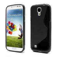 S-line gélový obal na Samsung Galaxy S4 - čierný