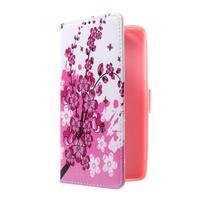 Cross peňaženkové puzdro na Huawei Honor 7 - kvetoucí větvička